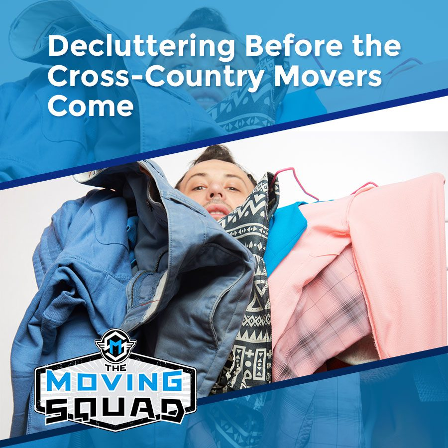 Decluttering Before the Cross-Country Movers Come
